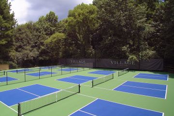 Pickleball Courts at the Village