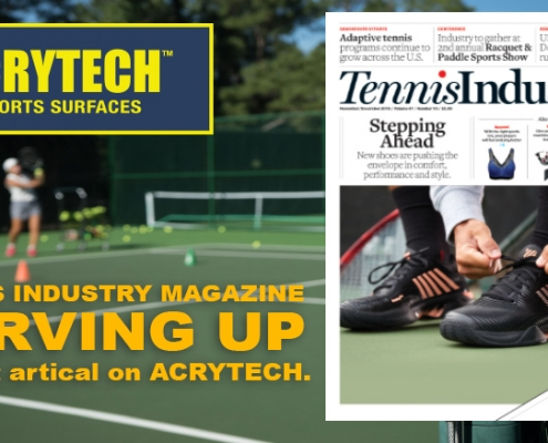 Tennis Industry Magazine blog post